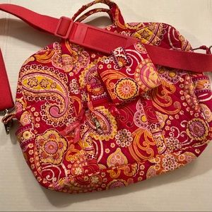 NWOT Vera Bradley Bag with matching wallet